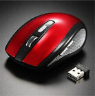 2.4GHz 6D1600DPI USB Wireless Optical Gaming Mouse Mice For Desktop Laptop 2018