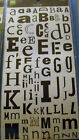 NEW ALPHA FETTI *You Choose* Alphabet ABC Letters MAKING MEMORIES Self Adhesive