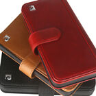 Pierre cardin Genuine Leather Wallet Cards Flip Case Cover For Apple iPhone X