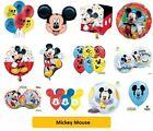 """MICKEY MOUSE BALLOONS SuperShape/Kids/Birthday/Party/Foil/Balloon/18""""/Latex QUAM"""