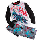 Disney Store Star Wars 2 PC Long Sleeve Pajama Set Boy Size 7/8 $19.99 USD on eBay