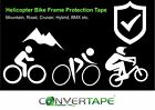 Extra clear Helicopter / Bike frame clear protection tape patches