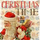 Christmas Time Vintage Santa, Presents ~ Counted Cross Stitch Pattern