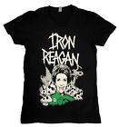 Iron Reagan - Nancy Reagan Ladies Girls Tee Black T-shirt - BRAND NEW