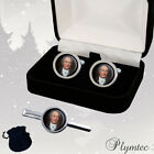 JOHANN WOLFGANG VON GOETHE GERMAN WRITER MEN'S CUFFLINKS + GIFT BOX  ENGRAVING