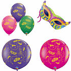 Mardi Gras Masks-A-Round Qualatex Latex & Foil Balloons Party Decoration