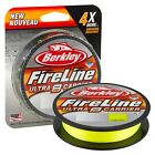 Berkley NEW Fireline ULTRA 8 Carrier Braid - Smoke/Green or Crystal - 300m Spool