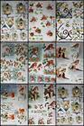 3D A4 DieCut Paper Tole Decoupage Christmas Birds Robins 1-3 pictures No Cutting