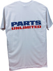 Parts Unlimited Parts Unlimited Short Sleeve T-Shirt White