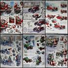 3D A4 DieCut Paper Tole Decoupage Christmas MG Cars Bikes Train 4 Men No Cutting