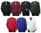 Double Breasted Blazer Mens Jacket Sports Coat Classic Fit Sizes 36-62 tb34