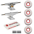 Independent Trucks Ricta SKATEBOARD 86a Clouds Wheels PACKAGE Abec 5 Bearings