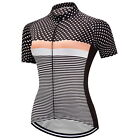 2017 New Fashion Womens Cycling Clothing Short Sleeve Tops Jerseys Full Zipper