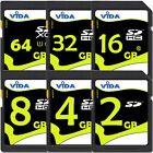 High Quality 2GB 4GB SD SDHC Memory Card For Digital SLR Camera Speed Class- NEW