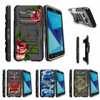 For Samsung Galaxy On7 | J7 Prime | J7 Halo (2017) Stand Clip Case Chic Flowers