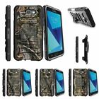 For Samsung Galaxy On7 | J7 Prime | J7 Halo (2017) Stand Clip Case Tree Camo