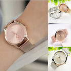 New Women Wrist Watch fashion Bracelet Stainless Steel Unisex  Analog Quartz image