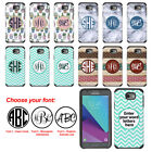 For Samsung Galaxy J3 Emerge J327 2007 Custom Monogram Letters Bumper Case Cover