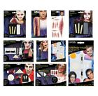 FACE PAINTING KIT (Halloween/Wound/Scar/UV/Applicator) {Amscan}