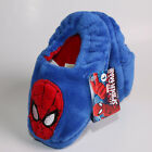 MARVEL KIDS PLUSH SPIDERMAN BLUE AND RED SLIPPERS MED 7-8 OR LARGE 9-10 NWT