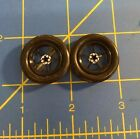 "Pro Track Pro Star Black Large Tire Drag Fronts 1"" tall for 050 axle Mid America"