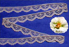 "Lace Trim Peach Doll Lace 1/2"" Scalloped M04V US Made Added Trims ShipFree"