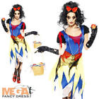 Twisted Snow White Fright Halloween Fairytale Horror Ladies Fancy Dress Costume