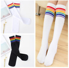 Girl Kids Thigh High OVER The KNEE Socks Cotton Warm Long Striped Stockings