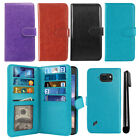 For Samsung Galaxy S6 Active Flip Holder Wallet Cover Case Wrist Strap + Pen