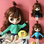 1/6 Blythe BJD Doll SD Dollfie DZ DOD LUTS Barbie Long Sleeve Top Blouse 5 Color