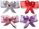 MAGNETIC BABY REBORN DOLL HAIR BOW WHITE PINK RED LAVENDER