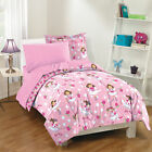 NEW Tippy Toes TWIN or FULL Pink Ballet Dancer Girls Bedding Comforter Sheet Set