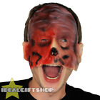 BURNT FACE MAN HALLOWEEN MASK ADULT GORY FACE FLESH NIGHTMARE SCAR FANCY DRESS