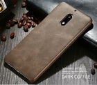 For Nokia 6 / 8 Luxury Retro Vintage Classic Soft Leather Back Skin Case Cover