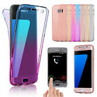 for Samsung Galaxy S8 Note 8 Cover Case Ultra Thin Slim 360 TPU Gel Skin Pouch
