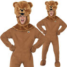 BUNGLE RAINBOW ADULTS COSTUME 70S 80S TV CHARACTER MASCOT LICENSED OUTFIT BEAR