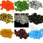20 Faceted Glass 12mm Teardrop Shape Beads 1/2 inch Long Tear Drops for Jewelry