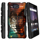 For ZTE Majesty Pro, Holster Combo Case Shockproof Clip Kickstand Cover
