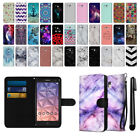 For Alcatel Onetouch Fierce XL 5054 Design Ultra Canvas Wallet Case Cover + Pen