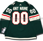 MINNESOTA WILD ANY NAME  NUMBER ADIDAS ADIZERO HOME JERSEY AUTHENTIC