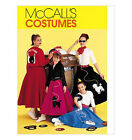 Sew & Make McCall's 8899 SEWING PATTERN - Girls SOCK HOP POODLE SKIRTS Costumes