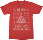 Merry Crustmas Ugly Sweater Youth T-Shirt Funny Christmas Gift