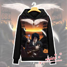 Anime Black Butler Ciel Sebastian Coat Unisex Hoodie Jacket Sweater Cosplay #XX1