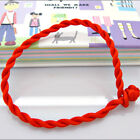 50X Cord STRING KABBALAH LUCKY BRACELETS Against Evil Eye for Success red ESUS