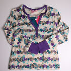 GIRLS FANG PLUS LAYERED LOOK LONG SLEEVES PURPLE SHIRT TOP M OR XXL NWT