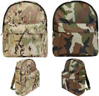Kids Boys Army Military MTP Backpack DPM Camo Rucksack School Sports Bag 15L New