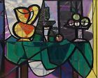 Pablo Picasso - Pitcher And Bowl of Fruit Print Poster Giclee
