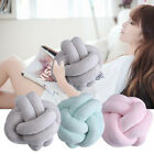 European Nordic Concise Knot Pillow Ball Weave Knotted Throw Decoration Cushion