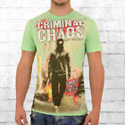 Mafia and Crime Herren T-Shirt Chaos mint-grün Männer Tshirt Men's Tee green