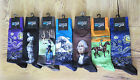 MENS HOT SOX Size 10-13 Socks FAMOUS ART Starry Night RaceHorse Wave You Choose